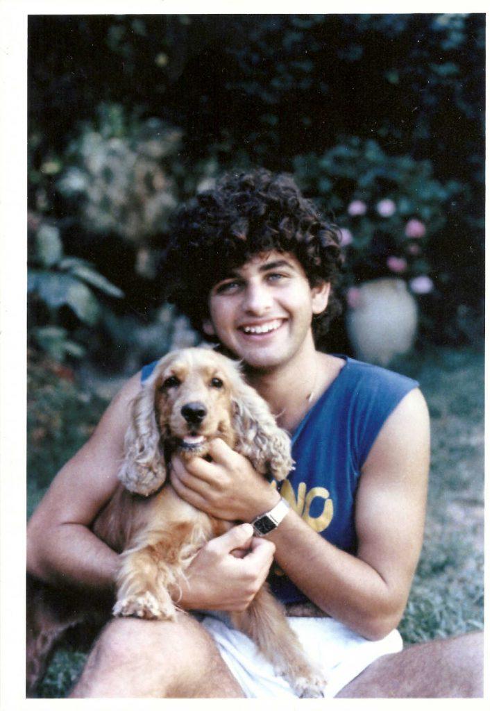 איתי עם הכלבה גסיקה