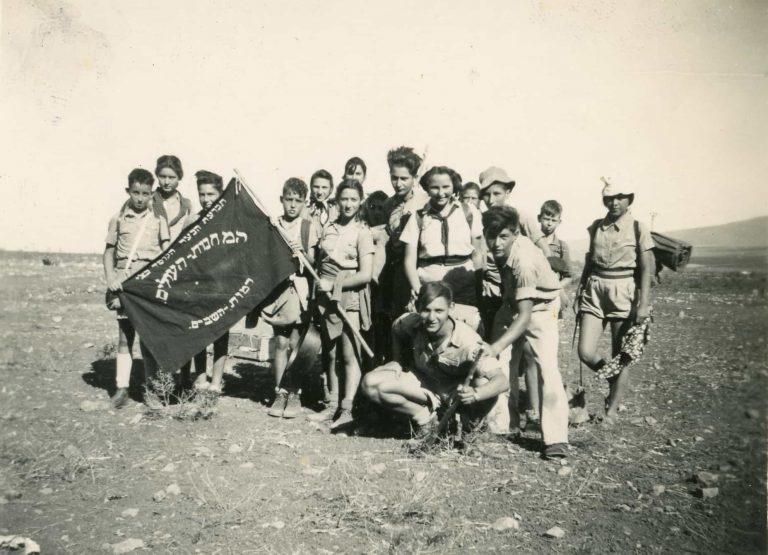 אהוד קרון מעיין חרוד - מחנה ארצי של המחנות העולים