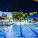 שיעור בבריכה